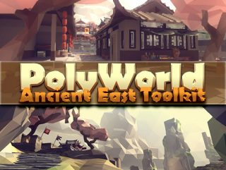PolyWorld: Ancient East Low Poly Toolkit