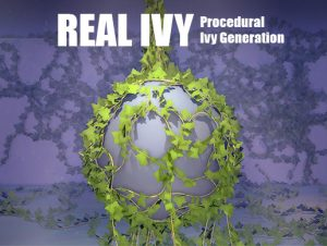 Real Ivy – Procedural Ivy Generation
