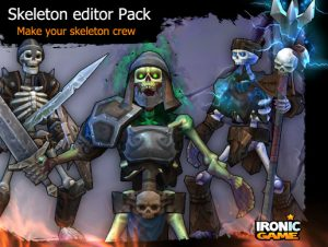 RPG Skeleton Army Editor Pack