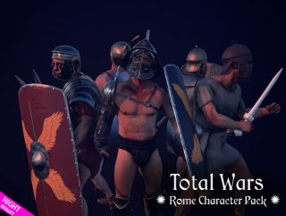 Total Wars: Rome Character pack