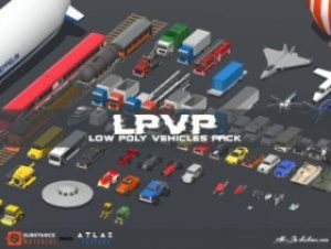 LPVP – Low Polygon Vehicles Pack