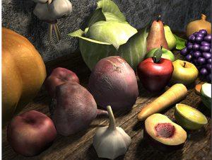 Medieval-Fruits-Vegetables