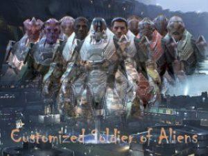 PBR Customized Alien Soldier