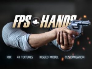 Realistic FPS Hands