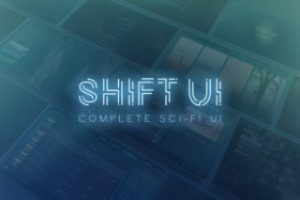 Read more about the article Shift – Complete Sci-Fi UI