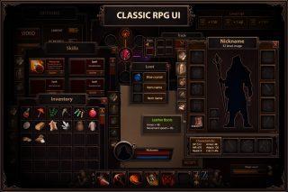 Classic RPG GUI