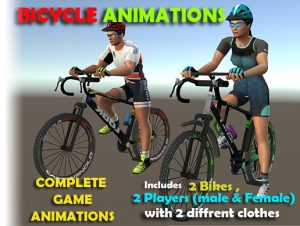 Cyclist Animations HD