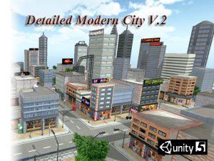 Detailed Modern City V.2