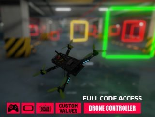 Drone Controller Full (PC/Joystick/Mobile)