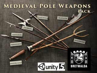 Medieval Pole Weapons Pack