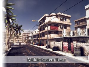 Middle Eastern Town