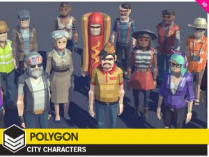 polygon-city-characters
