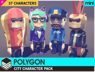 POLYGON MINI – City Character Pack