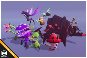 Polygonal Creatures Pack 2
