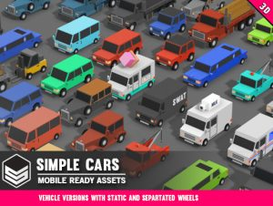 Simple Cars – Cartoon Vehicles