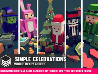 Simple Celebrations – Cartoon assets