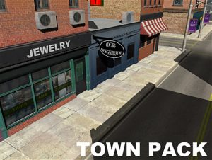 town-pack