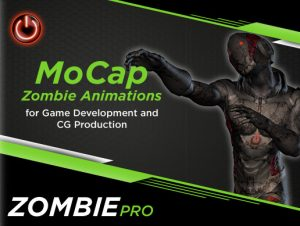 ZOMBIE PRO: MoCap Animation Pack