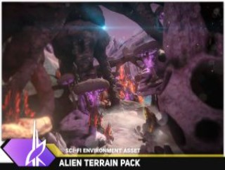 Alien Terrain Pack