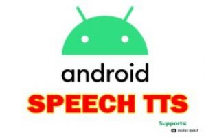 Android Speech TTS