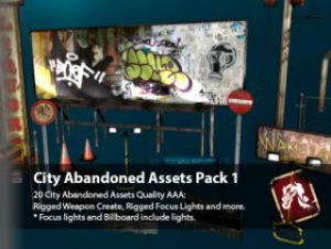 Read more about the article City Abandoned Assets Pack