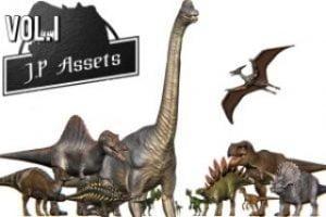 Jurassic-Pack-Vol.-I-Dinosaurs