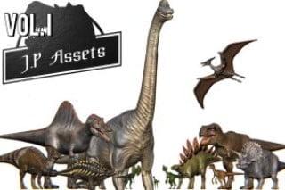 Jurassic Pack Vol. I Dinosaurs