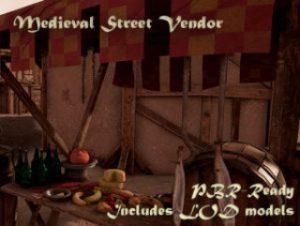 Medieval-Street-Vendor
