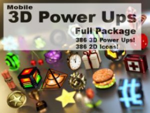 Mobile Power Ups Full Package