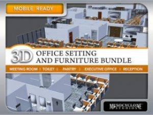 Office Setting Furniture Bundle