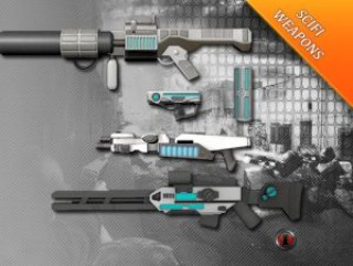 SCIFI Weapons Pack 1