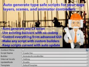 Script Builder: Type Safe access scripts