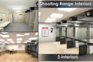 Shooting Range Interiors