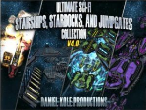 Ultimate-Sci-Fi-Starships-Stardocks-Jumpgates-Collection