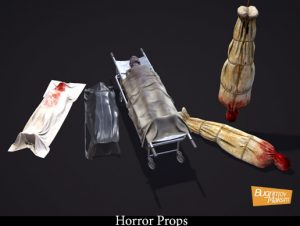 Horror Props (pack)