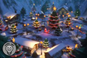 Christmas Log Village Pack (Interior / Exterior) – VR/Mobile