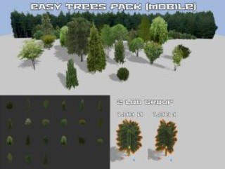 Easy trees pack (mobile)