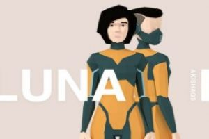 Luna   Lowpoly Character