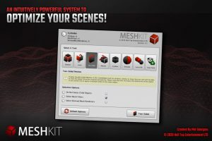 MeshKit – Mesh Decimation, Separation, Combining and Editing Tools