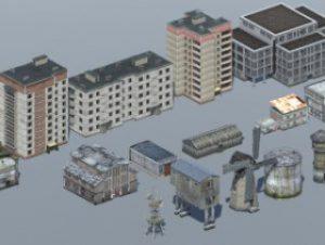 Mobile Buildings Pack (17 in 1)