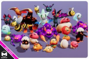 Monsters Ultimate Pack 01 Cute Series