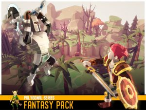 Polygonal Fantasy Pack