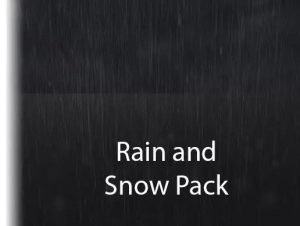 Rain and Snow Pack