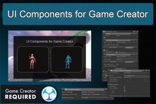 UI Components for Game Creator