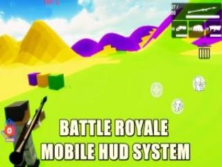 Battle Royale Mobile HUD System