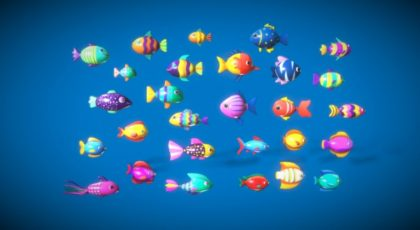 Cartoon Fish Pack 2