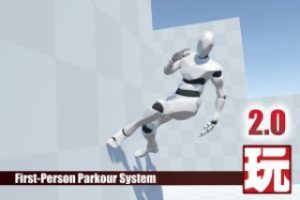 First-Person Parkour System v2.0 for Playmaker