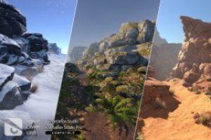 PBR Rocks – Nature Pack