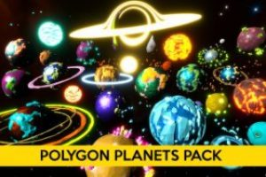 Polygon Planets Pack