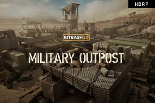 Military Outpost (HDRP) – KitBash3D